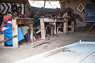 This project was shot in 2008 at the Mutaro School, which is located in the Laikipia district, one of the seventy-one districts of Kenya.<br /> I was commissioned to take these photographs by The Rainbow Collections Children Foundation in order to raise funds to rebuild the school.<br /> The new school is now finished!!<br />  <br /> We spent a week at the school and witnessed the day-to-day life of these children; <br /> some of them walk two hours every day, each way, to go to school and back home;<br /> Some days the school cannot provide any food as the state&rsquo;s support fails to reach them.<br /> The learning environment is very challenging to say the least and the school&rsquo;s structure is almost non-existent and falling apart.<br /> The girls have to skip school regularly as there are not any proper toilets.