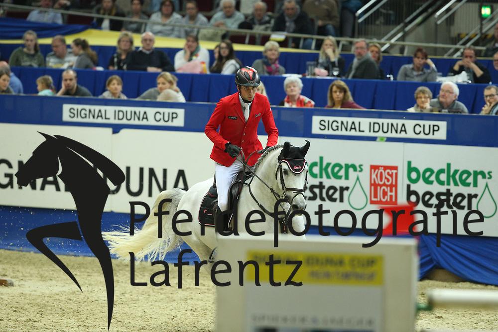 Nielsen, Denis (GER), DSP Cashmoaker<br /> Dortmund - Signal Iduna Cup 2016<br /> Grosser Preis der Bundesrepublik<br /> © www.sportfotos-lafrentz.de / Stefan Lafrentz