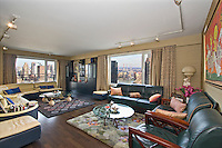 Living Room at 235 East 57th Street