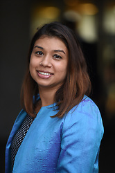 MP for Hampstead and Kilburn Tulip Siddiq outside Swiss Cottage Library in London after residents of five multiple-storey towers of the Chalcots Estate in north London were invited to a meeting in the wake of learning their homes are covered in combustible cladding.