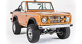 The ford bronco san francisco off-road vehicle