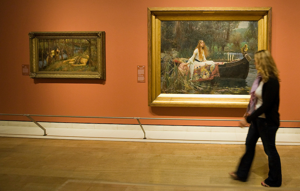 .London June 23rd The Royal Academy of Arts presents a major retrospective exhibition of the Pre-Raphaelite artist, John William Waterhouse RA (1849-1917). J.W. Waterhouse:The Lady of Shallot..***Standard Licence  Fee's Apply To All Image Use***.Marco Secchi /Xianpix. tel +44 (0) 845 050 6211. e-mail ms@msecchi.com or sales@xianpix.com.www.marcosecchi.com