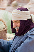 Middle East, Jordan, Petra, UNESCO World Heritage Site. Display Nabataean Lifestyle and customs