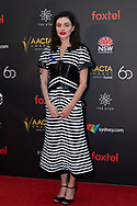 Phoebe Tonkin at The 2018 Australian Academy of Cinema and Television Arts (AACTA) Awards at The Star in Sydney, Australia