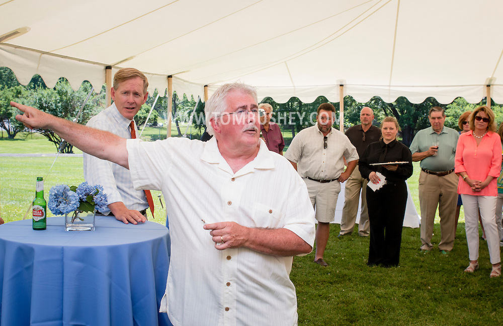 Middletown, New York - The YMCA of Middletown held a party to raise money for the campaign for a new pool at the Portos in Clemson Park on June 14, 2015.