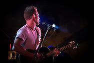 Tim Lopez singer and guitarist of Plain White T's in concert in Yokosuka Japan
