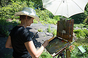 En plein air at The New York Botanical Gardens on June 19, 2016 in The Bronx, New York. (Photo by Ben Hider)