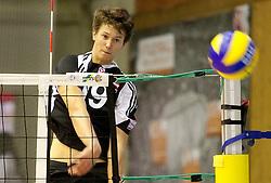02.09.2011, ASKÖ-Halle, Graz, AUT, freundschaftliches Volleyball Länderspiel, AUT vs POL, im Bild Lorenz Koraimann (AUT), EXPA Pictures © 2011, PhotoCredit: EXPA/ Erwin Scheriau