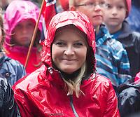 NITTEDAL, 20150917: Kronprinsparets fylkestur i Akershus hvor Kronprins Haakon og Kronprinsesse Mette-Marit besøker NIttedal.  FOTO: TOM HANSEN