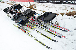 Training for the IPC 2014 Nordic Skiing World Cup Finals in Oberstdorf