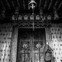 A nun aged 13 at a monastery in Bhutan
