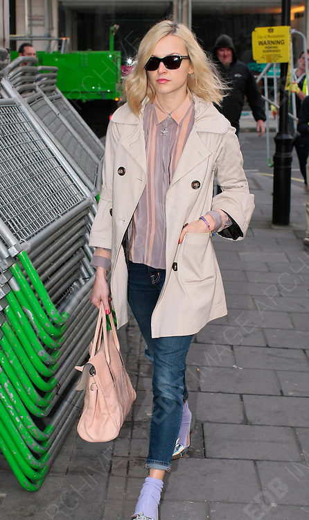 29.MARCH.2012. LONDON<br /> <br /> FEARNE COTTON AT THE RADIO 1 STUDIOS IN CENTRAL LONDON<br /> <br /> BYLINE: EDBIMAGEARCHIVE.COM<br /> <br /> *THIS IMAGE IS STRICTLY FOR UK NEWSPAPERS AND MAGAZINES ONLY*<br /> *FOR WORLD WIDE SALES AND WEB USE PLEASE CONTACT EDBIMAGEARCHIVE - 0208 954 5968*