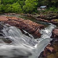 Klepzig Mill in spring, Shannon County, Missouri
