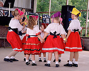 "Girls prepare to dance at the Kolache-Klobase Festival celebrating Czech heritage in East Bernard, Texas. NOTE: Click ""Shopping Cart"" icon for available sizes and prices. If a ""Purchase this image"" screen opens, click arrow on it. Doing so does not constitute making a purchase. To purchase, additional steps are required."