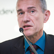 03 June 2015 - Belgium - Brussels - European Development Days - EDD - Inclusion - Building a caring world-A common challenge for Europe and emerging countries - Frank Vandenbroucke ,  Professor , Former Belgian Minister of Social Affairs , Friends of Europe Trustee and Chairman of the High-Level Group on Social Union © European Union
