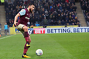 Aston Villa midfielder Robert Snodgrass (7) controls the ball  during the EFL Sky Bet Championship match between Hull City and Aston Villa at the KCOM Stadium, Kingston upon Hull, England on 31 March 2018. Picture by Mick Atkins.