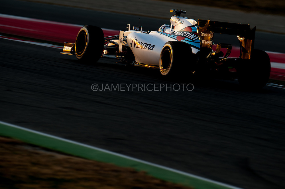 February 19-22, 2015: Formula 1 Pre-season testing Barcelona : Susie Wolff, Williams Martini Racing
