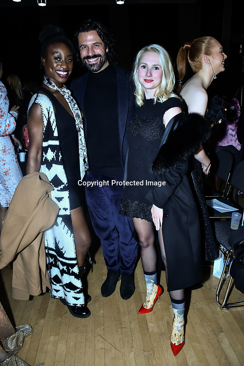 Christian Vit attends The British luxury Womenswear designer, Chanel Joan Elkayam, showcases her Autumn - Winter 2020 show ahead of London Fashion Week on 13 February 2020 at Cecil Sharp House, London, UK.