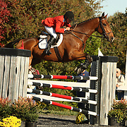 Karen O'Connor (USA) and Hugh Knows at Fair Hill International in Elkton, Maryland.