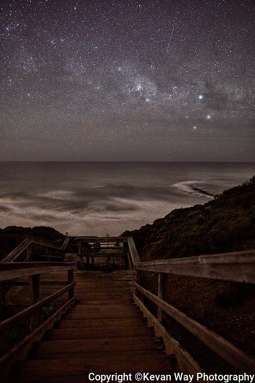 Milky Way over Bird Rock