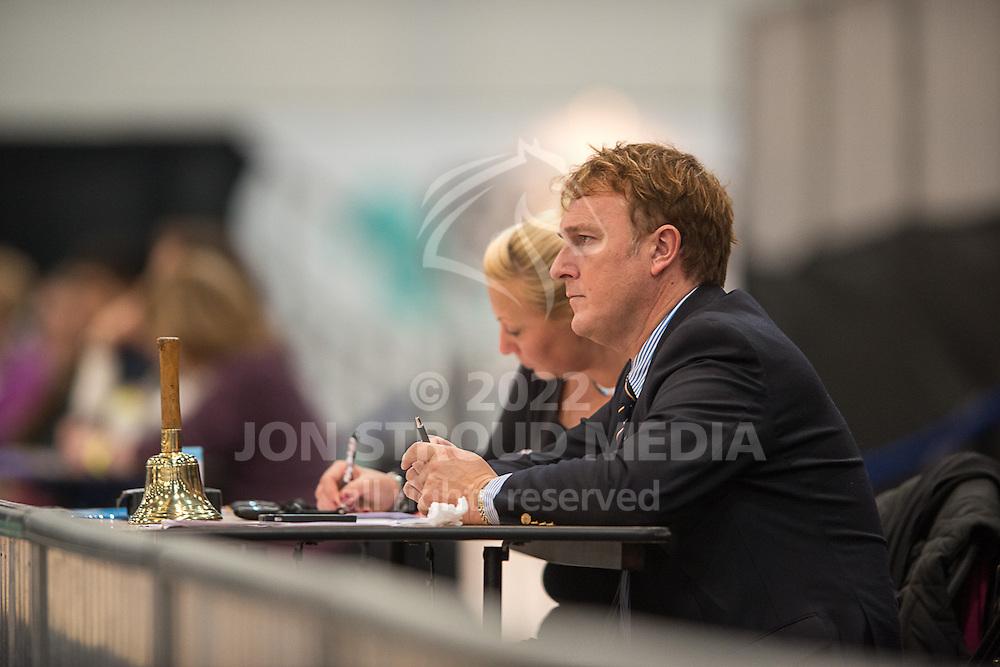 Judges - Dressage - Express Eventing - Horse World Live - ExCel London - 17 November 2012