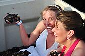 Seth and Amber Trash the Dress | Duplin Winery Grape Stomp