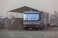 Impressive shade structure over a big RV. My Burning Man 2019 Photos:<br />