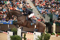 Lynch Denis, (IRL), Garkus van het Indihof<br /> Championat of Leipzig<br /> CSIO Leipzig 2016<br /> © Hippo Foto - Stefan Lafrentz