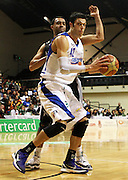 Saints' Arthur Trousdell in action. NBL Semifinal - HBS Bank Hawks v Wellington Saints at TSB Bank Arena, Wellington, New Zealand on Saturday 26 May 2012. Photo: Justin Arthur / photosport.co.nz
