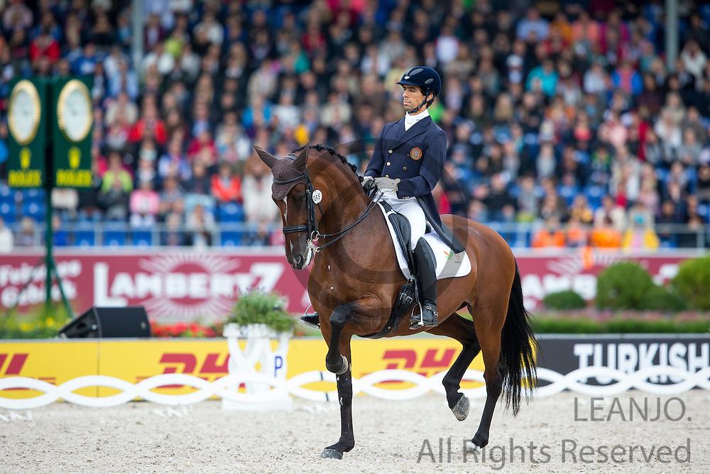Goncalo Carvalho - Batuta<br /> FEI European Championships Aachen 2015<br /> &copy; DigiShots
