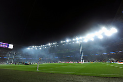 A general view of Twickenham Stadium prior to the match - Mandatory byline: Patrick Khachfe/JMP - 07966 386802 - 03/10/2015 - RUGBY UNION - Twickenham Stadium - London, England - England v Australia - Rugby World Cup 2015 Pool A.