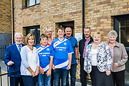 Members of the Coburn family from Perth at Urban Union Muirton housing development, 11th August 2017.