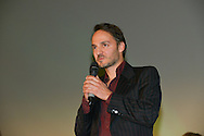 Fabrizio Rongione during the Opening Ceremony of the Festival International of Film Francophone in Namur in Belgium.  2 october 2015, Namur, Belgium