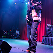 SILVER SPRING, MD - January 1st, 2012 - Rapper and D.C. native Wale performs at the Fillmore Silver Spring in Silver Spring, MD. Wale released his sophomore album, Ambition, in November. (Photo by Kyle Gustafson/For The Washington Post).