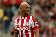 Stoke City midfielder Stephen Ireland during the Barclays Premier League match between Stoke City and West Bromwich Albion at the Britannia Stadium, Stoke-on-Trent, England on 29 August 2015. Photo by Aaron Lupton.