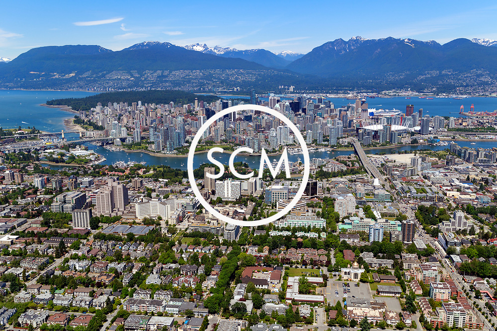Aerial Photography of Vancouver, British Columbia