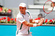 Roberto Bautista during the Madrid Open at Manzanares Park Tennis Centre, Madrid<br /> Picture by EXPA Pictures/Focus Images Ltd 07814482222<br /> 04/05/2016