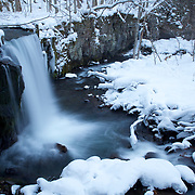 One of the Oriase Gorge's biggest attractions: Chosi Big Falls...even more stunning in a winter wonderland landscape.