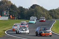 #147 Reynolds / Ridgeon Renault Clio 16v 2000 during the CSCC Tin Tops at Oulton Park, Little Budworth, Cheshire, United Kingdom. October 15 2016. World Copyright Peter Taylor/PSP. <br /> Copy of publication required for printed pictures.  Every used picture is fee-liable. http://archive.petertaylor-photographic.co.uk