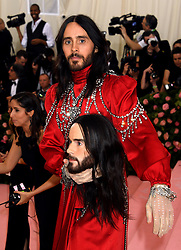 Jared Leto attending the Metropolitan Museum of Art Costume Institute Benefit Gala 2019 in New York, USA.