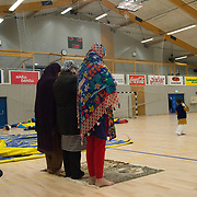 Eid is celebrated in a sports hall in the suburbs of Reykjavik. The Muslim community is growing with the arrival of refugees and migrants. The construction of a mosque has been a topic contested.