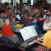 Muziekavond door leerlingen in de Ark Huizen