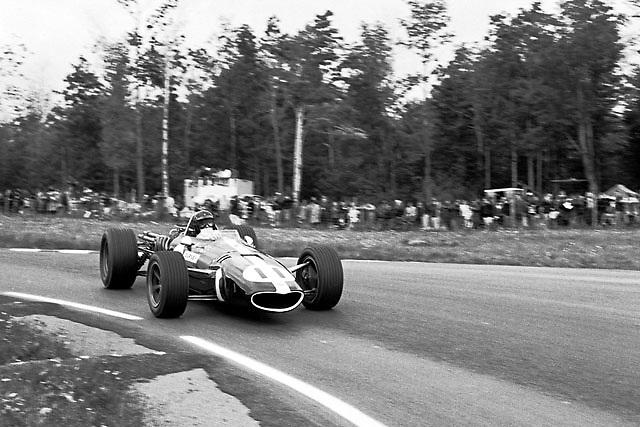 Dan Gurney in his F1 Eagle with Gurney-Weslake V12 at the 1967 USGP at Watkins Glen