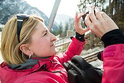 Alenka Teran Kosir 1 week before FIS Ski Flying World Cup, on March 14, 2017 in Planica, Slovenia. Photo by Vid Ponikvar / Sportida