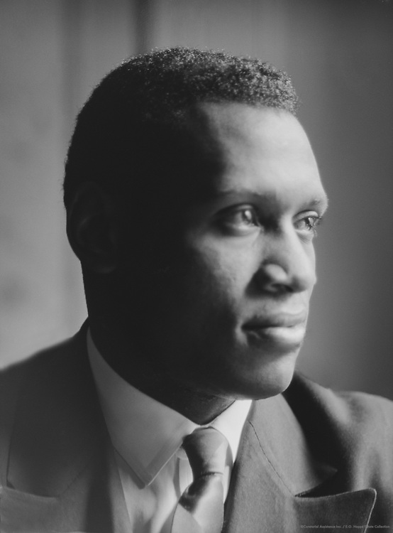 Paul Robeson, singer, 1925