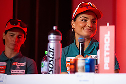 Nina Zadravec during press conference of Slovenian Nordic Ski Cross country team before new season 2019/20, on Novamber 12, 2019, in Petrol, Ljubljana, Slovenia. Photo Grega Valancic / Sportida