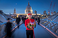 Bellboy in London