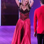NLD/Hilversum/20120916 - 4de live uitzending AVRO Strictly Come Dancing 2012, Sabine Uitslag en danspartner Pascal Maassen