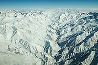 The Hindu Kush mountains in Afghanistan - Photograph by Owen Franken