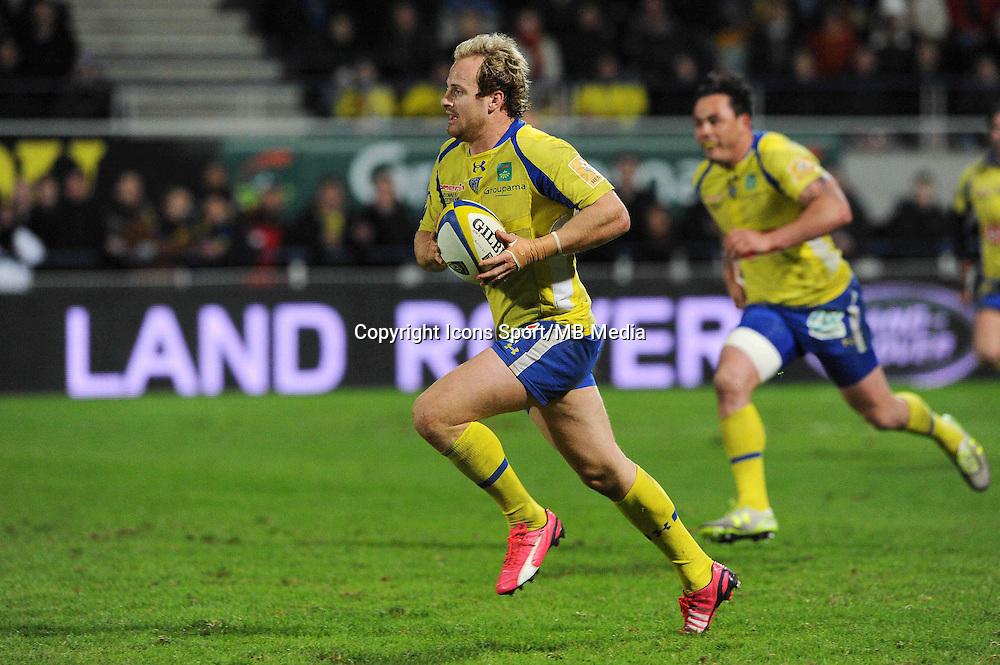 Nick Abendanon  - 13.03.2015 - Clermont / Begles Bordeaux  -  20eme journee de Top 14<br /> Photo : Jean Paul Thomas  / Icon Sport<br /> <br />   *** Local Caption ***